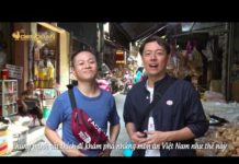 Xem Double Wish-Cặp đôi Nhật Bản Nakagawa Shinsuke thách thức danh hài khám phá chợ Bà Hoa