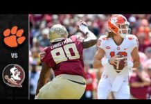 Video Clemson vs. Florida State Football Highlights (2018)