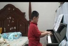 Xem Didong Tianyi composed a 10 minutes Impromptu of Piano