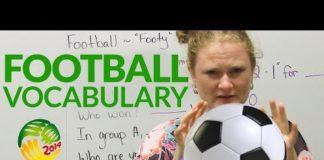 Video Learn English: FOOTBALL Vocabulary
