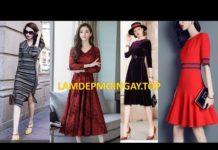 Xem 25 Mẫu Đầm Trung Niên Nữ đẹp rất thời trang tphcm, Hà Nội, Đà Nẵng