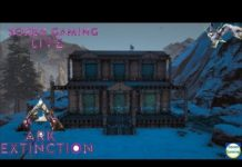 ARK Extinction New DLC (No Mods) #11: Xây Nhà Siêu Công Nghệ