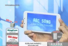 Xem DIEN THOAI DI DONG KINGCOM PADPHONE 62 LIVE 30P   KM 30 4 MP4 640 480p 25fps 1250kbps 4×3