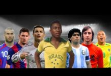 Video Top 20 Best Football Players of All Time • **OUTDATED**