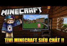 Xem TIVI TRONG MINECRAFT BẠN ĐÃ XEM CHƯA !!?? – Minecraft Nội Thất