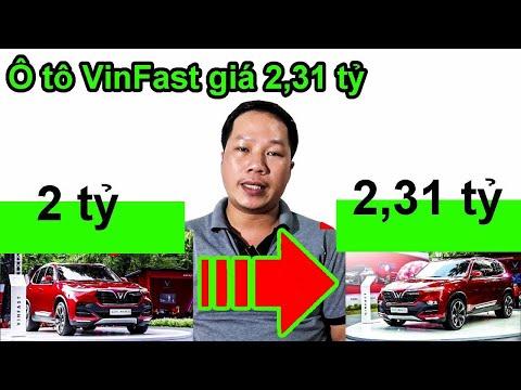 Ô tô VinFast full options độn giá hơn 300 triệu thành 2,31 TỶ