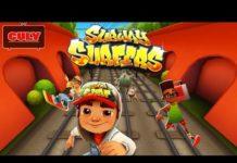 Xem Play Subway Surfers chạy lụm vàng bị cảnh sát dí cu lỳ chơi game lồng tiếng vui nhộn funny gameplay