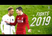 Video Football Fights & Furious Moments 2019