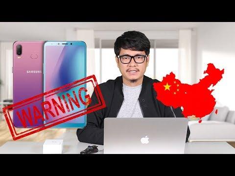 Xem Sốc: Galaxy A6s là điện thoại Tầu, không phải của Samsung?
