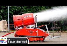 Thiết Bị Cứu Hỏa Công Nghệ Mới Thông Minh – Dập Tắt Mọi Đám Cháy