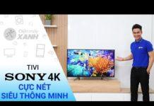 Xem Android Tivi Sony 4K 49 inch KD – 49X7500F – Hàng mới về 2018 | Điện máy XANH