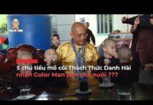 Xem 5 chú tiểu mồ côi Thách Thức Danh Hài nhận Color Man làm cha nuôi ??? – BUZZ TV