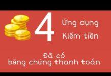Xem [Đã rút] 4 app kiếm tiền online trên điện thoại uy tín 2019