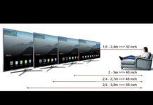 Xem Kích thước các dòng TiVi và Khoảng Cách Xem Hợp Lý