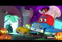 Xem QUÁI VẬT tại hội chợ cho lễ HALLOWEEN – Siêu xe tải Carl 🚚⍟ những bộ phim hoạt hình về xe tải