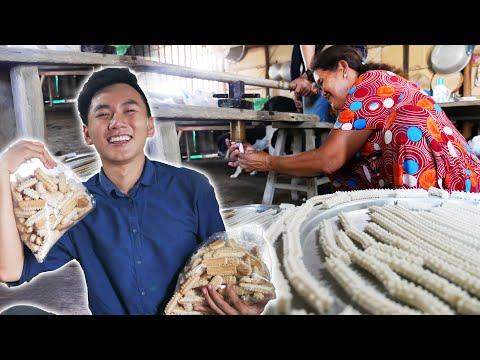 ĐỘC LẠ món bánh từ đầu đạn tên lửa #1  Du lịch ẩm thực miền Tây Việt Nam