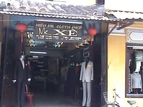 Xem Mr Xe's Tailor Shop in Hoi An – www.sapatours.co.uk