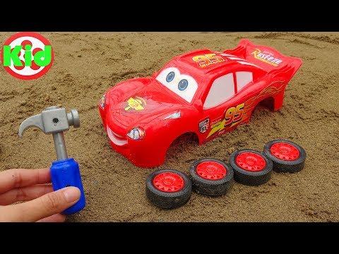 Xem Lắp ráp xe ô tô đua Lightning Mcqueen – đồ chơi trẻ em B1246P Kid Studio