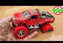 Xem Người nhện đi tìm xe ô tô dưới đất – đồ chơi trẻ em B1099A Kid Studio