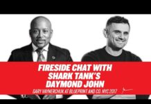 Xem Fireside Chat with Shark Tank's Daymond John | Gary Vaynerchuk at Blueprint and Co. NYC 2017