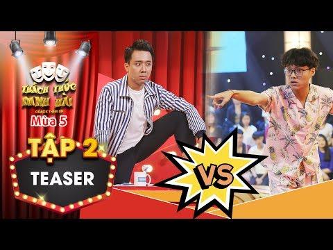 """Xem Thách thức danh hài 5 teaser tập 2: Trấn Thành """"phát điên"""" khi đấu khẩu tay đôi với thánh livestream"""