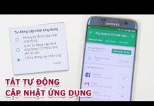 Xem Cách để tắt tự động cập nhật ứng dụng trên Android