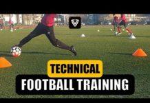 Video TECHNICAL FOOTBALL TRAINING   U11 – U12 – U13 – U14   SOCCER EXERCISES   Thomas Vlaminck