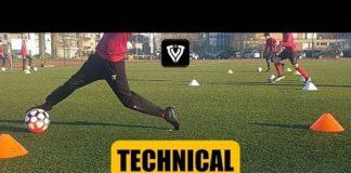 Video TECHNICAL FOOTBALL TRAINING | U11 – U12 – U13 – U14 | SOCCER EXERCISES | Thomas Vlaminck