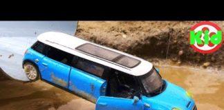 Xem Vùi cát lên xe ô tô và mang đi rửa sạch sẽ – đồ chơi trẻ em B1244M Kid Studio