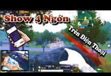Xem PUBG Mobile | Show Thao Tác Tay 4 Ngón Solo Squad Trên Điện Thoại
