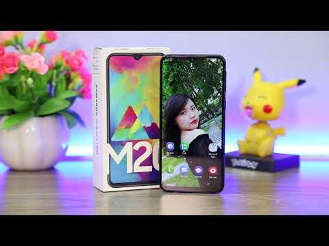 """Xem Mở Hộp điện thoại """"Cứ 3 giây lại bán được 1 chiếc"""" – Galaxy M20 chĩnh hãng, giá dưới 5tr"""