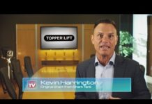 Xem TopperEZLift | As Seen On TV | Shark Tank Kevin Harrington | Power Truck Topper Camping Package