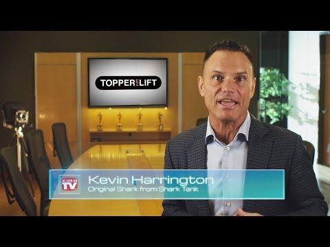 Xem TopperEZLift   As Seen On TV   Shark Tank Kevin Harrington   Power Truck Topper Camping Package