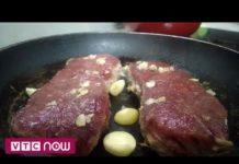 Công nghệ in 3D biến ngũ cốc thành thịt bò bít tết