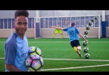 Video FOOTBALL CHALLENGES vs MAN CITY