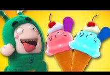 View Oddbods: FOOD FIASCO   All Funny Episode Compilation   Cartoons for Children   LIVE 🔴