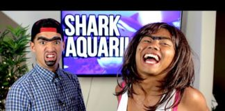 Xem ROLANDA & RICHARD Visit the Shark Aquarium