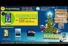Xem The gioi Di dong – Ứng dụng màn hình quảng cáo theo chuỗi bán lẻ