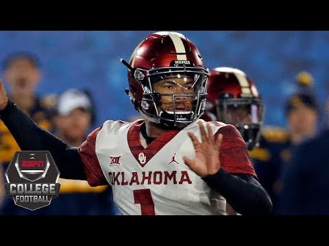 Video Oklahoma outlasts West Virginia to advance to Big 12 championship | College Football Highlights