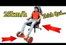 Xem PHD | Biến Xe Điện Tự Cân Bằng Thành Xe Hơi | Self Balancing Smart Scooter