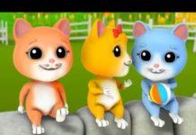 Xem Chú Mèo Con Remix Nhạc Thiếu Nhi Vui Nhộn Lk Con Heo Đất Chú Cún Con Sôi Động