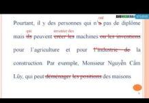 Video Sửa lỗi sai kĩ năng viết tiếng Pháp – Bài 2: Diplome (DELF B1, DELF B2)