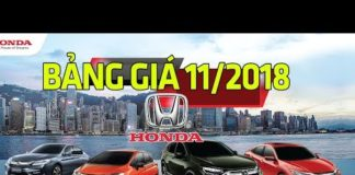 Xem Bảng giá xe ô tô Honda mới nhất tháng 11/2018 mới nhất | Tin Xe Hơi