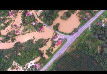 Xem Fenomena Banjir Di Kampung Kuala Dong( Simpang Gesing) , Raub Pahang Darul Makmur (HD, 1080p)