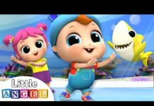 Xem Baby Shark Dance at the Aquarium | Nursery Rhymes by Little Angel