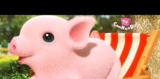 Nghe Con heo đất remix 🐖 Một con vịt Chú ếch con nhạc thiếu nhi con heo đất tv