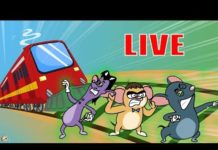Xem Rat-A-Tat |'LIVE – Train Cartoons + Color Cartoons for Kids'| Chotoonz Kids Funny Cartoon Videos