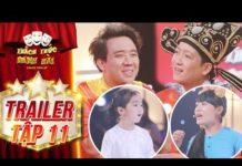 Xem Thách thức danh hài 4|trailer tập 11:Trấn Thành, Trường Giang rối với loạt thí sinh nói 1 trả lời 10
