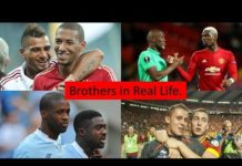 Video 20 Football Players Who Are Brothers in Real Life.