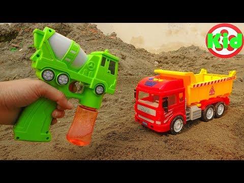 Xem Construction Vehicles. Những chiếc xe ô tô đáng yêu – đồ chơi trẻ em B1332P Kid Studio